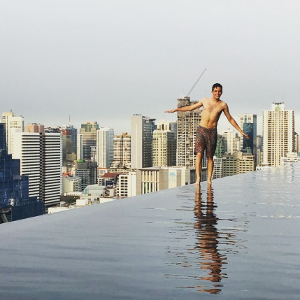 "A whole new meaning to ""infinity pool"""